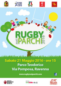 Volantino Rugby nei Parchi_front