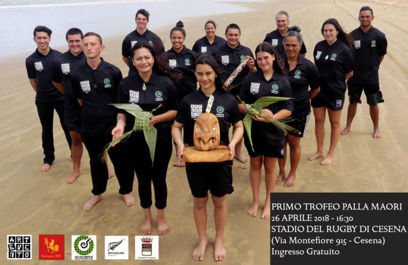 Primo Trofeo Palla Maori, giovedì 26 aprile allo Stadio del Rugby di Cesena