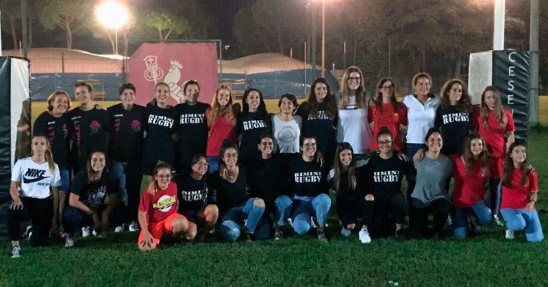 Presentato il nuovo progetto dedicato al Rugby femminile