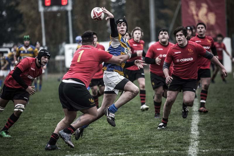 Per l'Under 18 un prezioso pareggio in extremis sul campo del Rugby Parma: 27-27