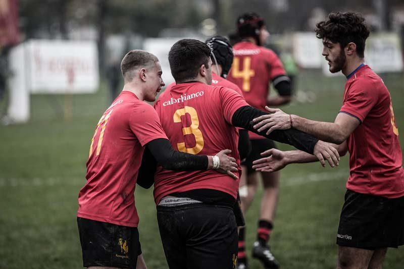 Il Romagna U18 chiude il girone di andata a Prato