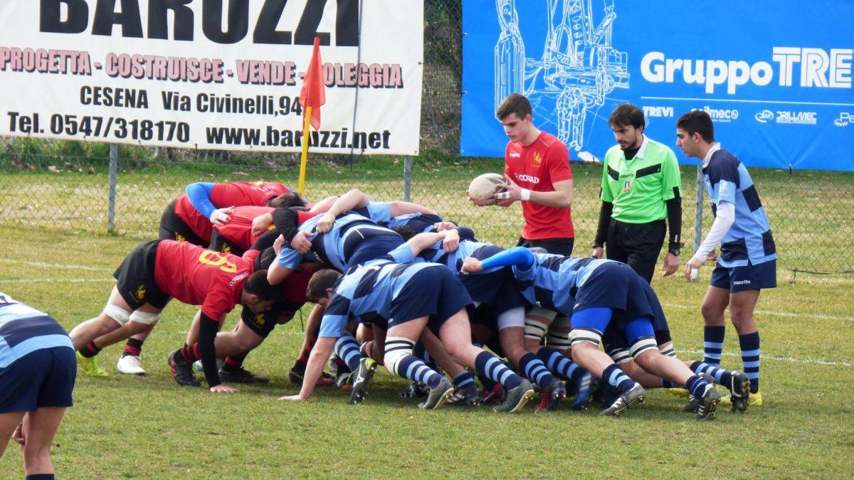 Il Romagna Under 18 fermato dall'Amatori Parma sul 13-29
