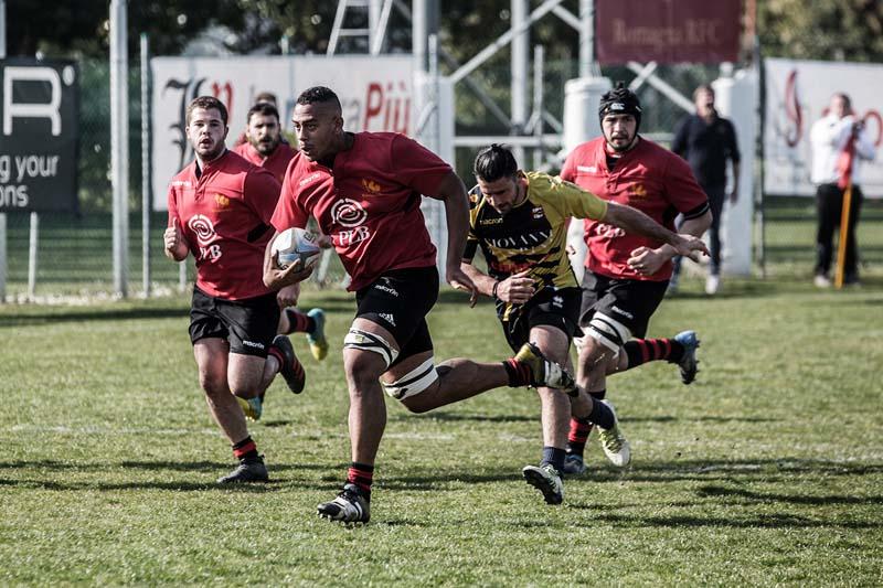 Romagna RFC – Vasari Rugby Arezzo: la photogallery