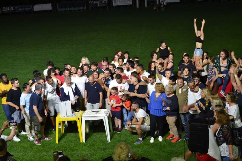 I festeggiamenti del Romagna RFC di fine stagione. La photogallery della festa