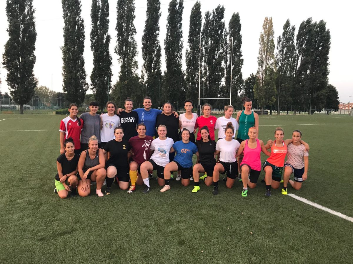Il Romagna RFC femminile si prepara all'esordio in Serie A