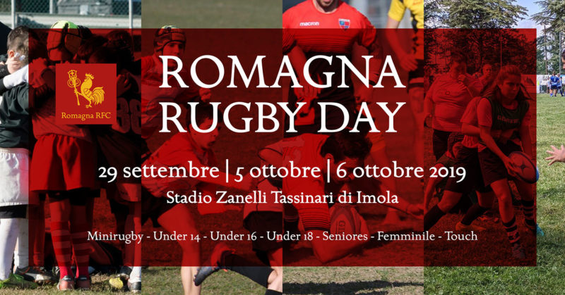 Romagna Rugby Day 2019: il programma