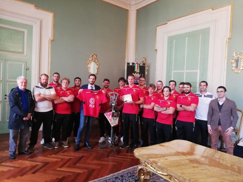 Il Romagna RFC ricevuto dal Sindaco di Cesena Enzo Lattuca