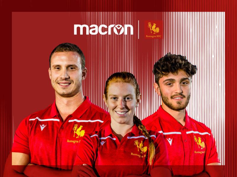 Romagna RFC & Macron: insieme anche in questa stagione
