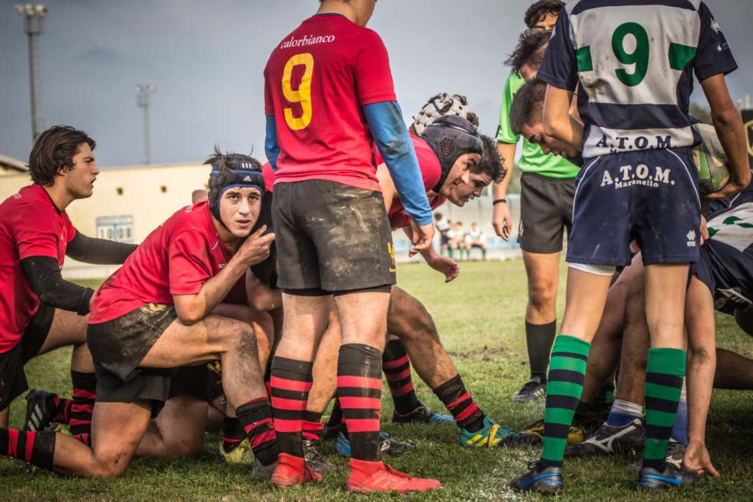 Under 18: Modena Rugby vs Romagna RFC, la photogallery