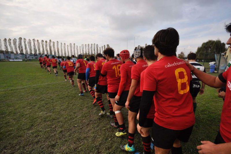 Sfida con la capolista Cavalieri Union Rugby per il Romagna Under 18