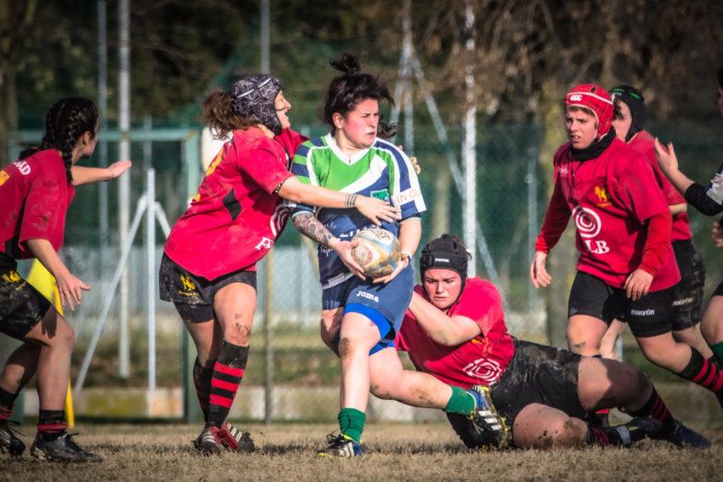 Il Romagna Femminile cede alla capolista Riviera Rugby: 5-47