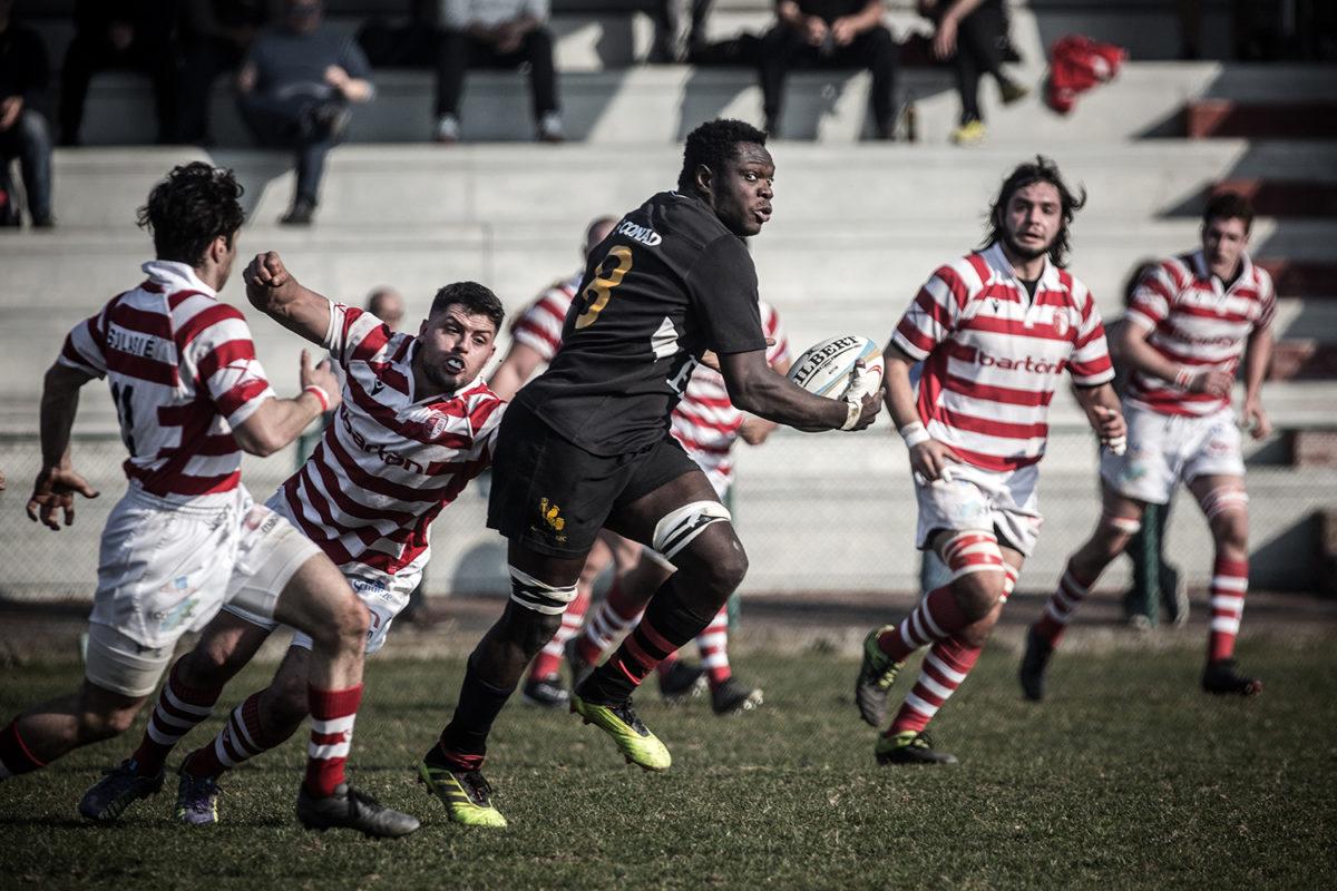 Con il Perugia una vittoria che vale il sorpasso: i galletti si impongono 60-13