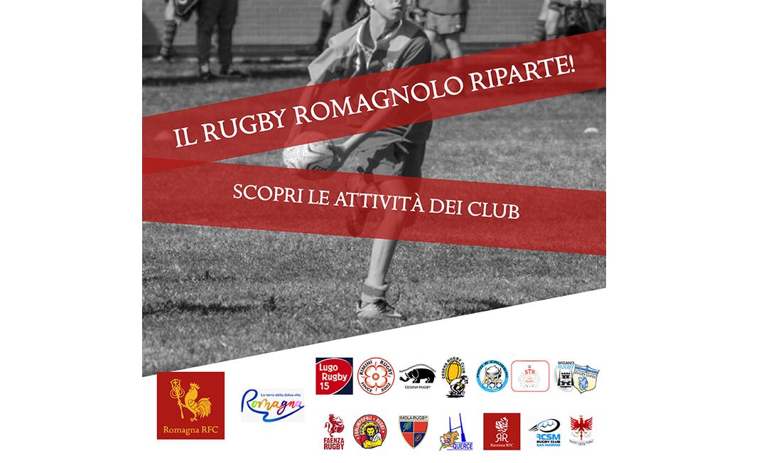 I Club della Franchigia Romagna Rugby pronti per la nuova stagione